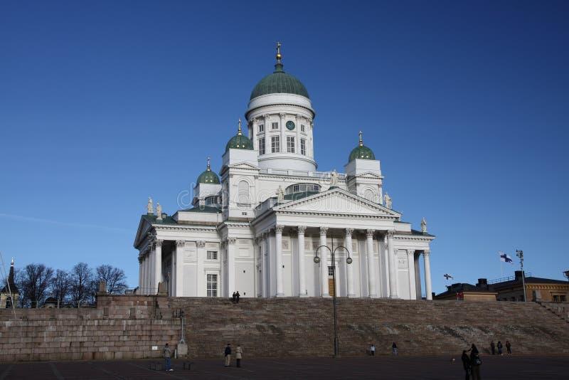 De kathedraal van Helsnki, Finland stock fotografie