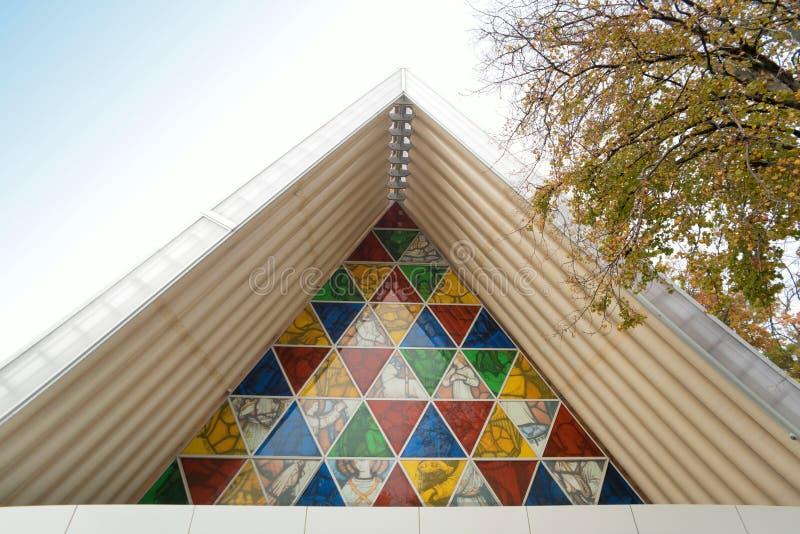 De Kathedraal ` van het Christchurch` s ` Karton royalty-vrije stock fotografie