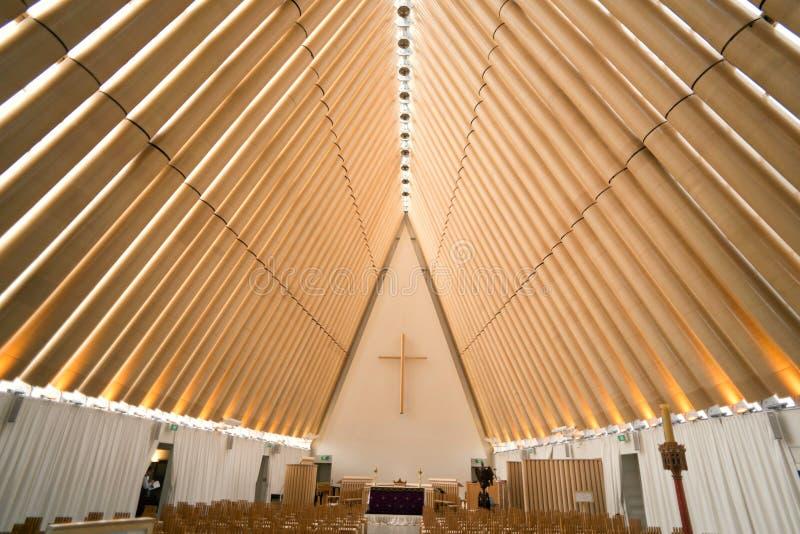 De Kathedraal ` van het Christchurch` s ` Karton royalty-vrije stock afbeelding