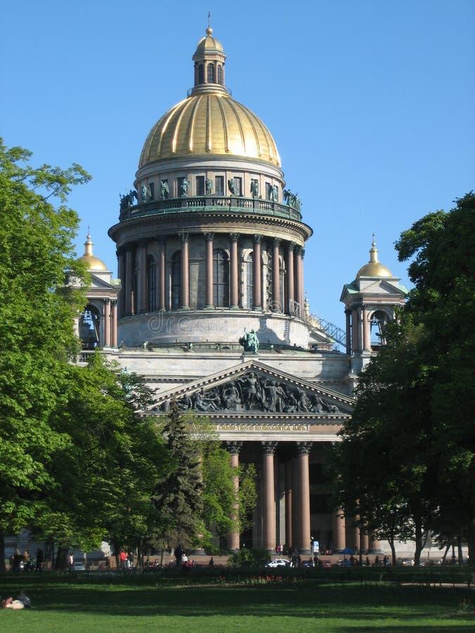 De kathedraal van Isaakievsky royalty-vrije stock fotografie