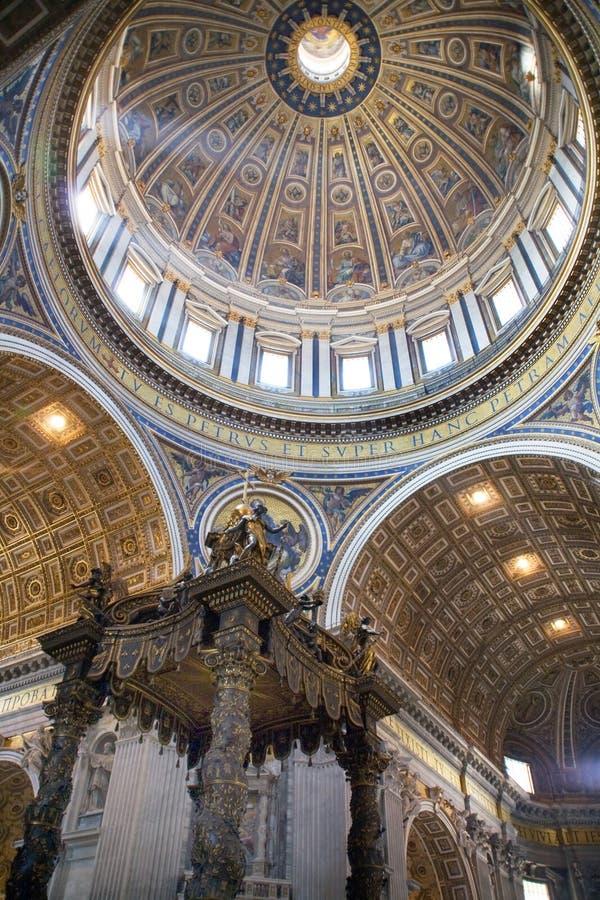 De kathedraal van Italië, Rome, st. peterï ¿ ½ s stock afbeelding