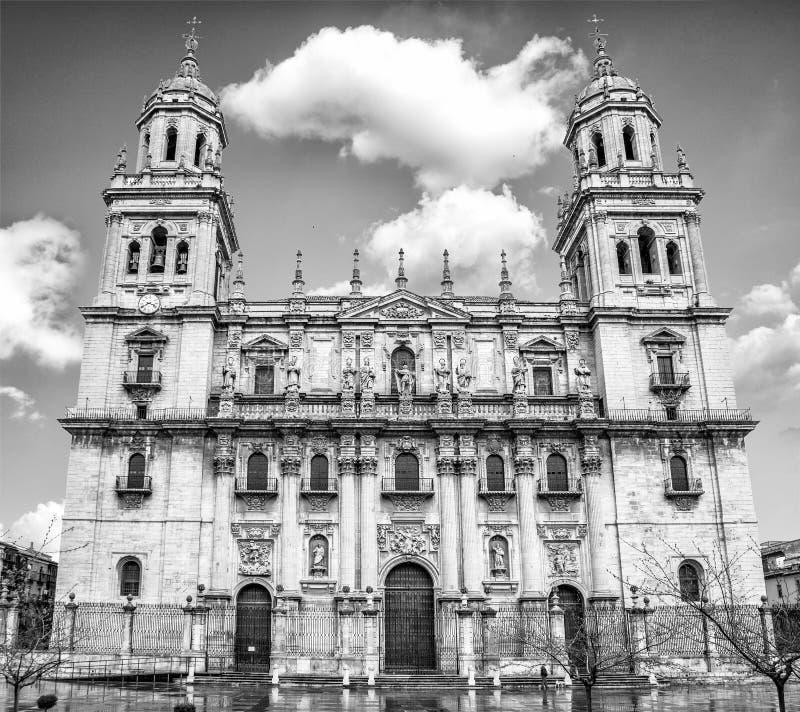 De kathedraal van Jaen royalty-vrije stock afbeeldingen