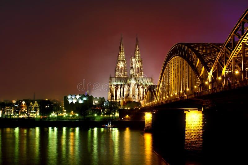 De Kathedraal van Keulen royalty-vrije stock foto's