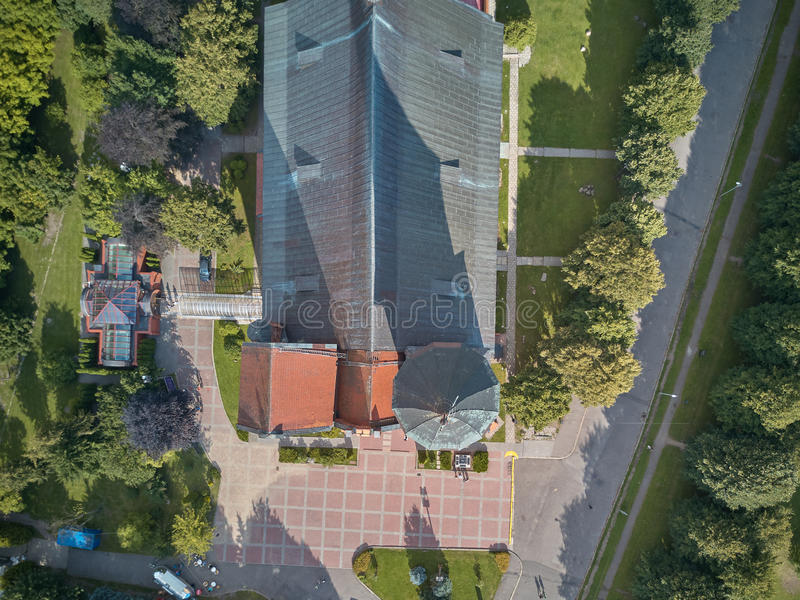 De Kathedraal van Konigsberg Kaliningrad, vroeger Koenigsberg, Rusland royalty-vrije stock fotografie