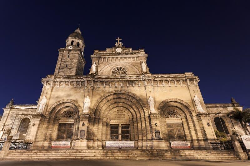 De Kathedraal van Manilla stock foto