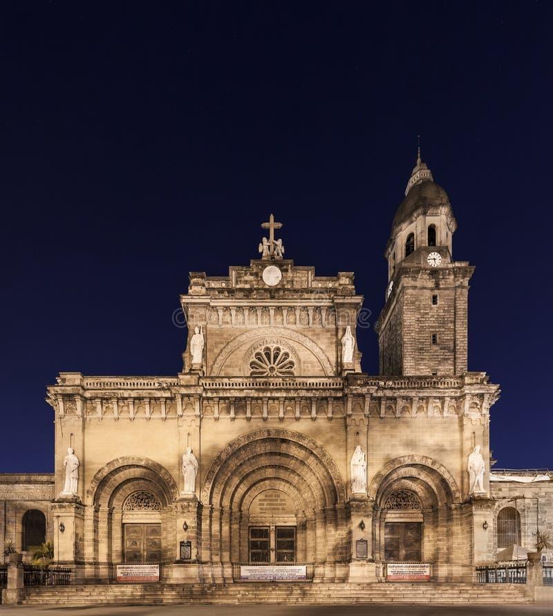 De Kathedraal van Manilla royalty-vrije stock afbeelding