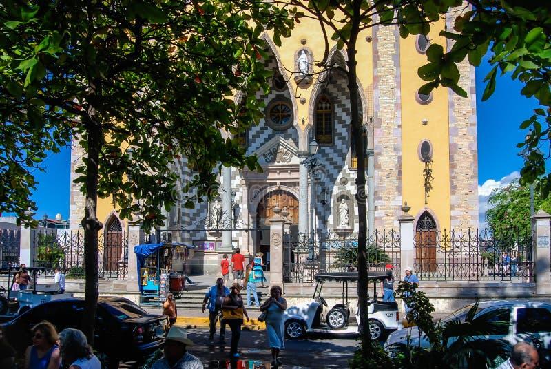 De kathedraal van Mazatlan royalty-vrije stock foto's