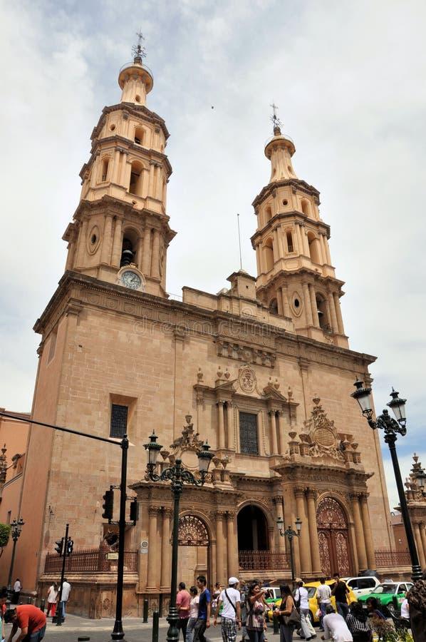 De Kathedraal van Mexico van Leon royalty-vrije stock foto