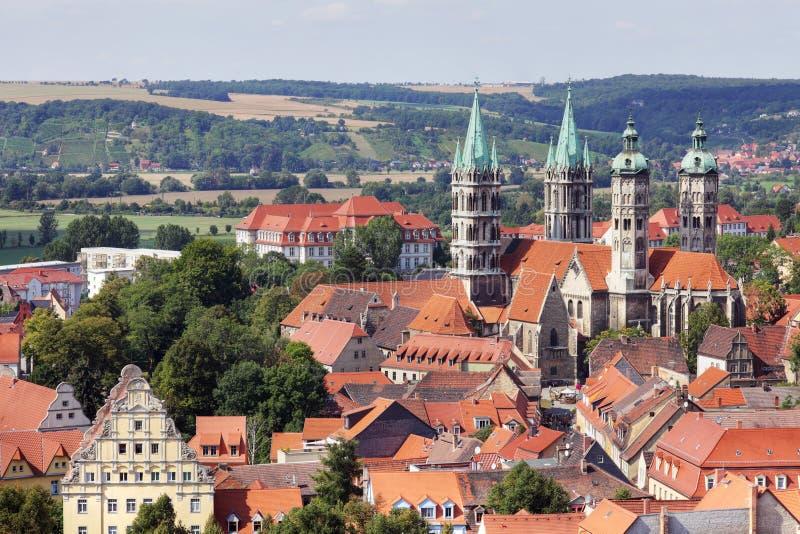 De Kathedraal van Naumburg royalty-vrije stock foto's