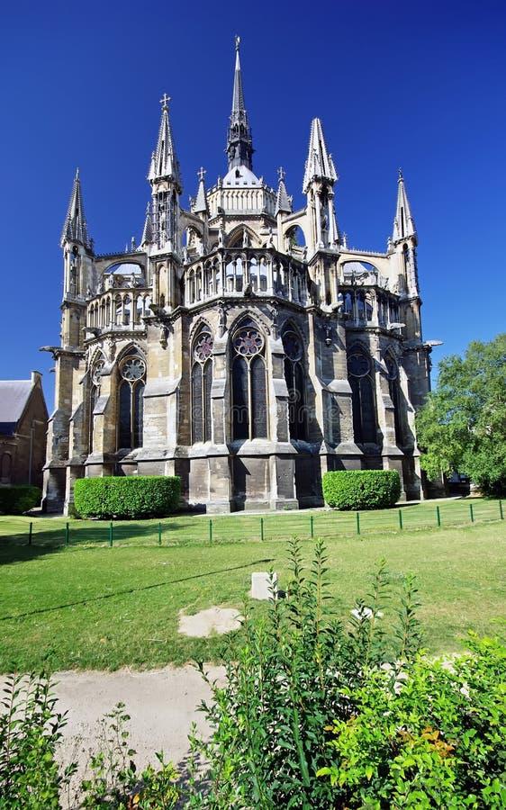 De kathedraal van Notre Dame stock fotografie