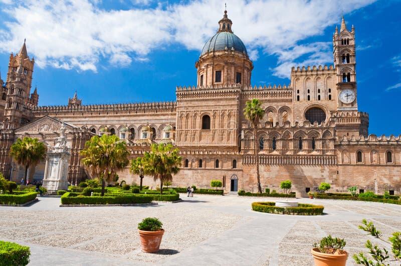 De kathedraal van Palermo stock fotografie