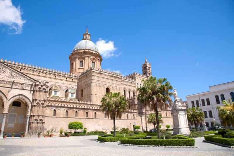 De kathedraal van Palermo. stock foto