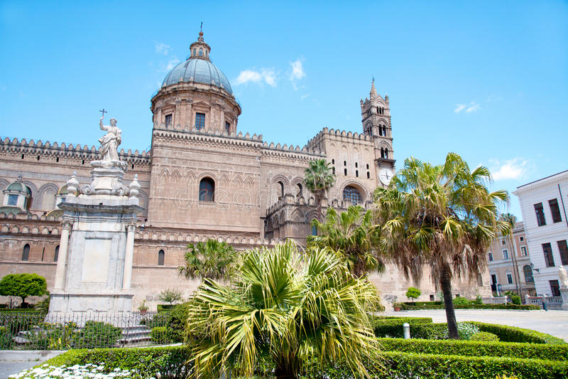 De kathedraal van Palermo. royalty-vrije stock foto's