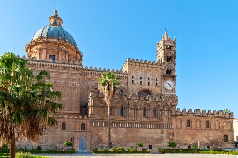 De Kathedraal van Palermo, Sicilië, Italië royalty-vrije stock afbeeldingen