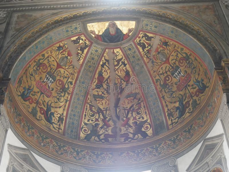 De Kathedraal van Parma stock foto's