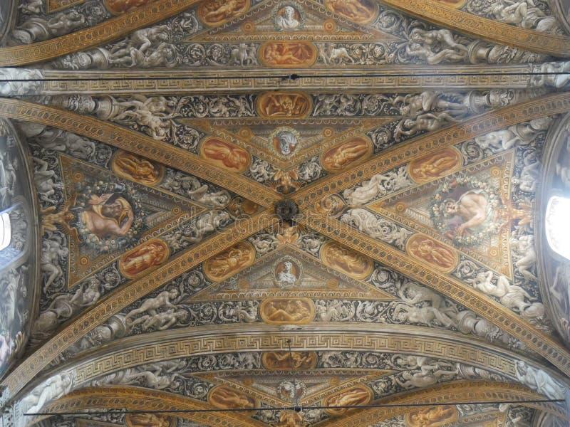 De Kathedraal van Parma stock fotografie