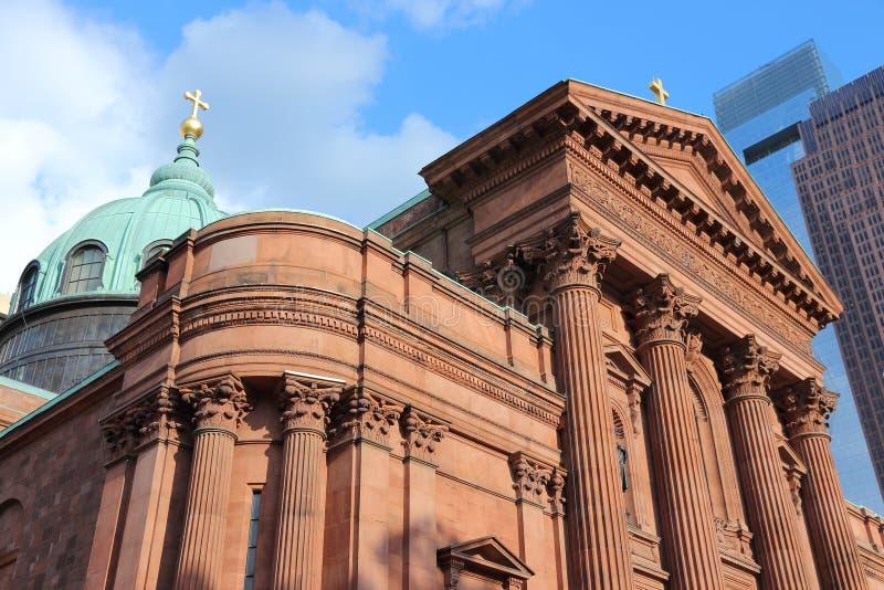 De Kathedraal van Philadelphia stock afbeeldingen
