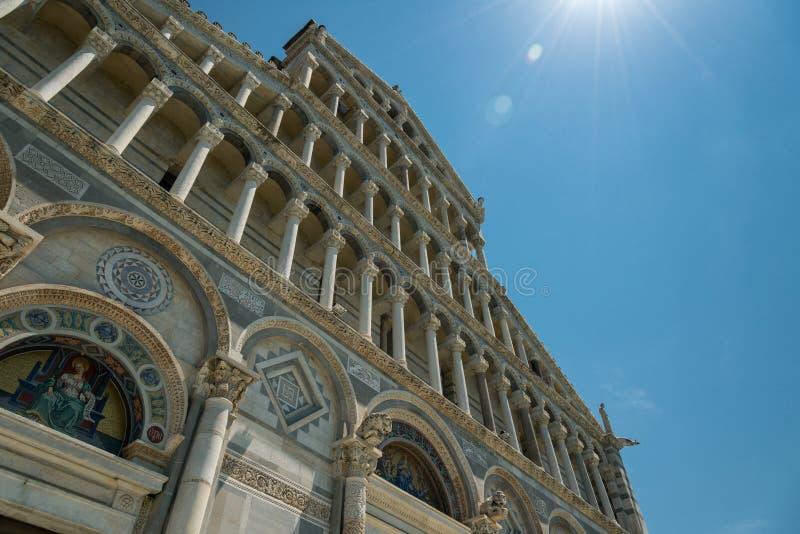 De kathedraal van Pisa royalty-vrije stock foto's
