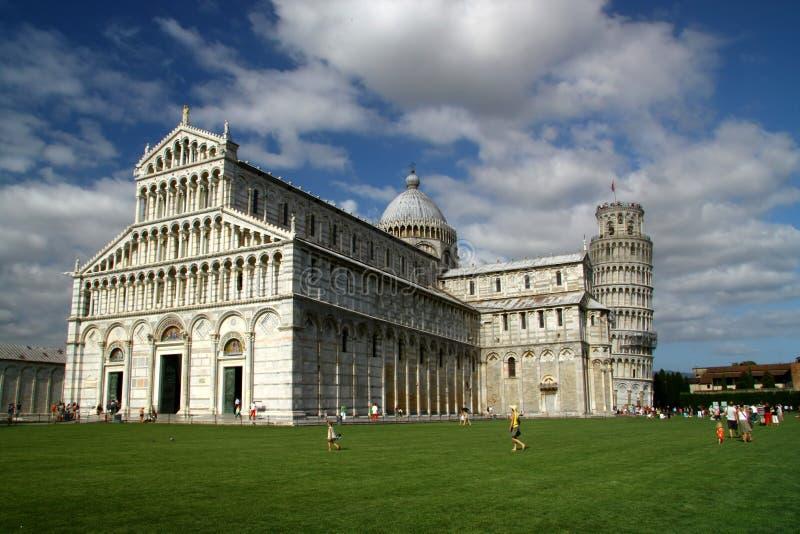 De kathedraal van Pisa royalty-vrije stock afbeeldingen