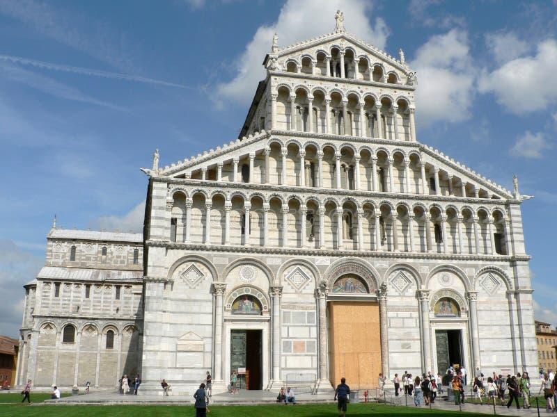 De Kathedraal van Pisa stock afbeelding