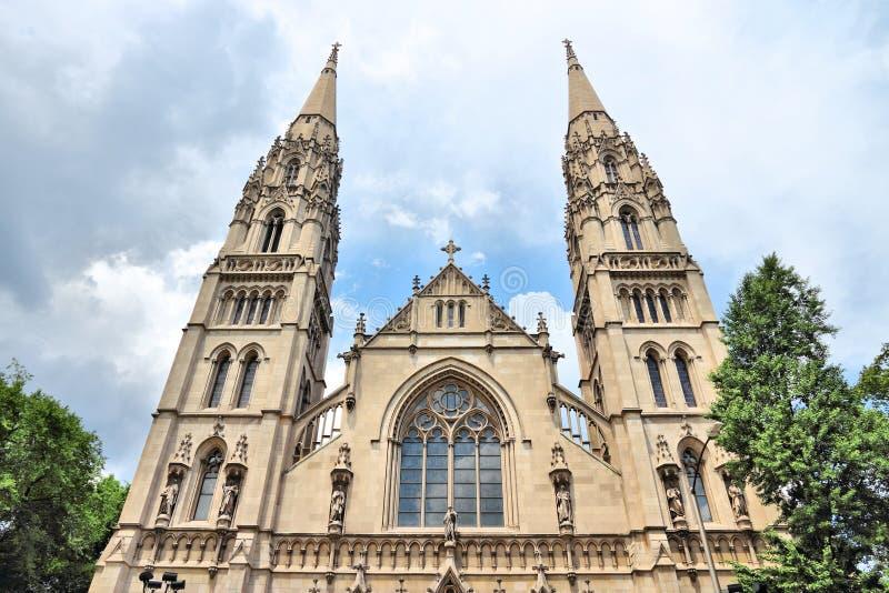 De Kathedraal van Pittsburgh stock afbeeldingen