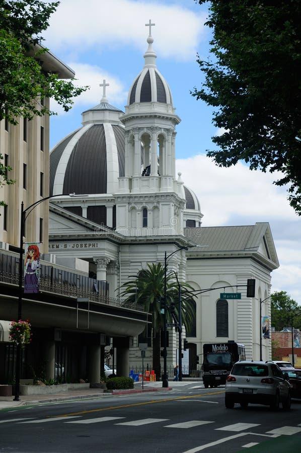 De Kathedraal van Saint Joseph stock foto's
