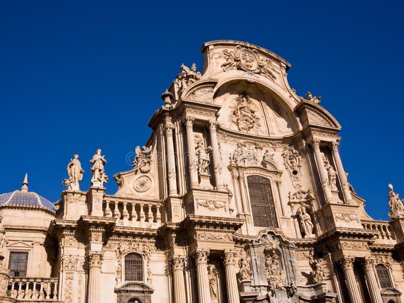 De Kathedraal van Santa Maria in Murcia - Spanje stock foto