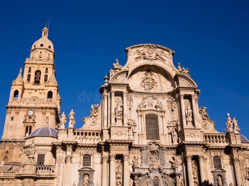 De Kathedraal van Santa Maria in Murcia - Spanje royalty-vrije stock afbeelding