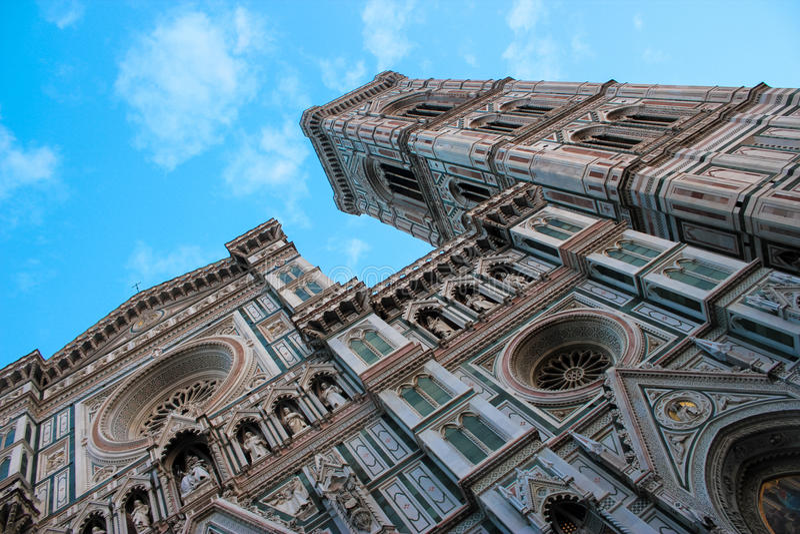 De Kathedraal van Santa Maria del Fiore: Florence Architectural Gem stock afbeeldingen