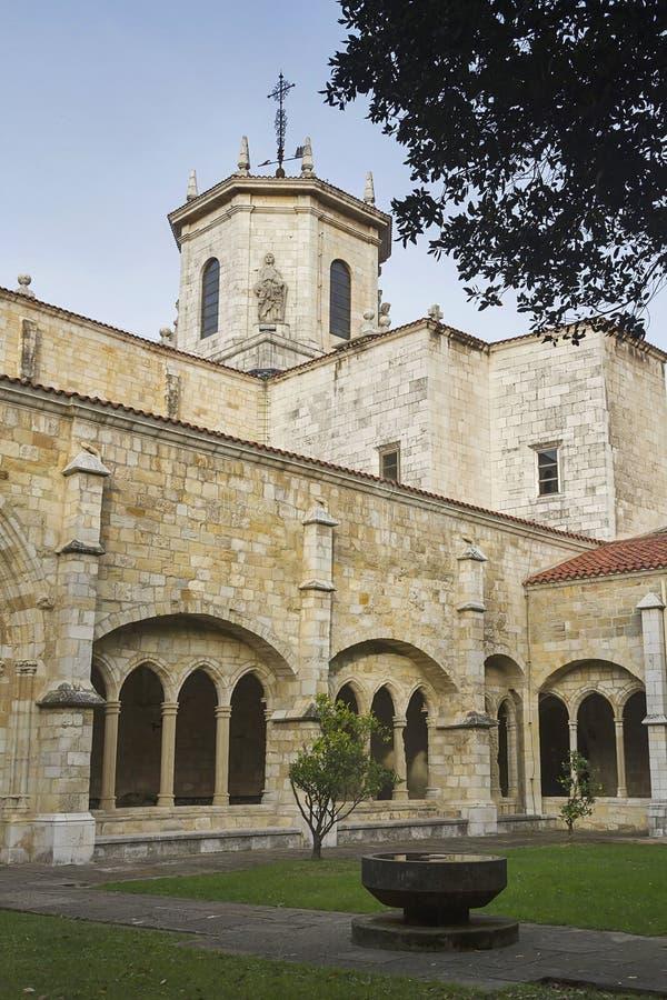 De kathedraal van Santander royalty-vrije stock foto