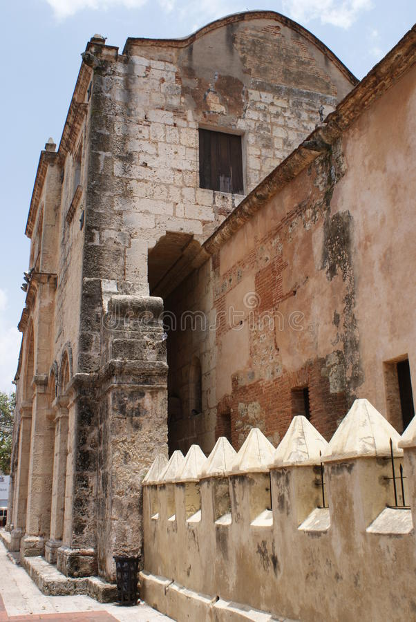 De kathedraal van Santo Domingo royalty-vrije stock foto's