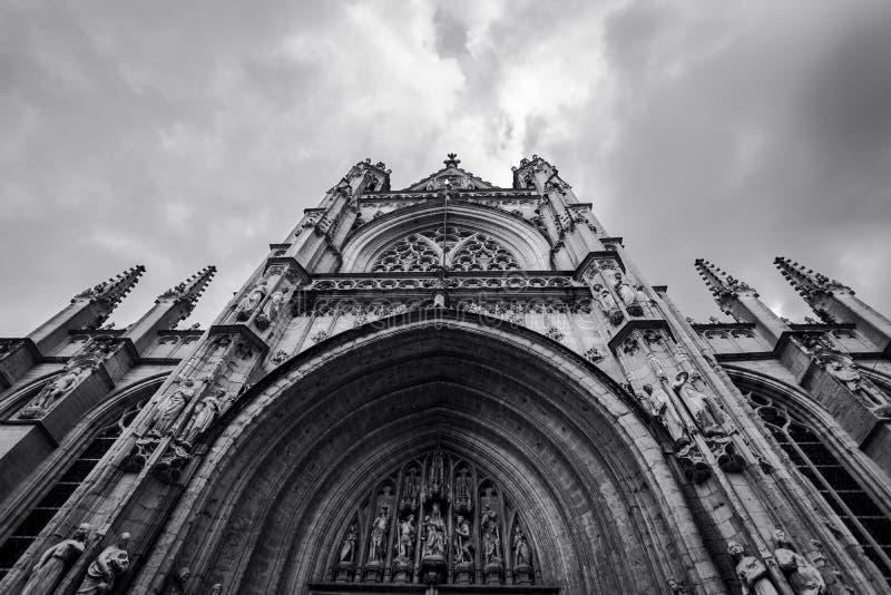 De Kathedraal van St John Goddelijk, officieel de Kathedraalkerk van Saint John, New York royalty-vrije stock foto