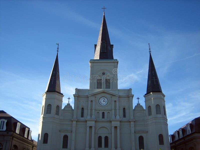 De kathedraal van St.Louis royalty-vrije stock foto's