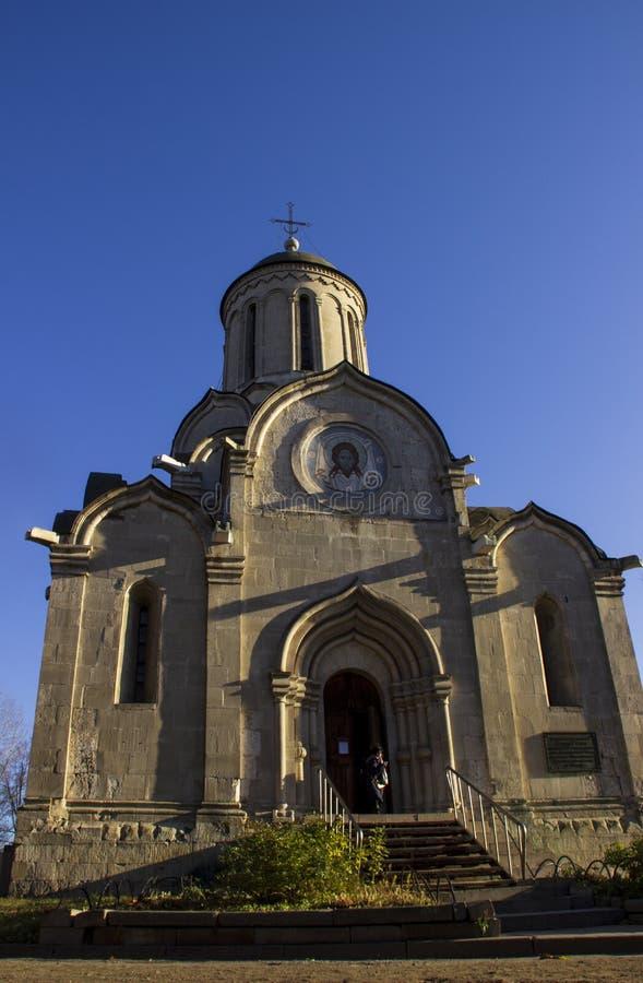 De Kathedraal van steenspassky stock foto