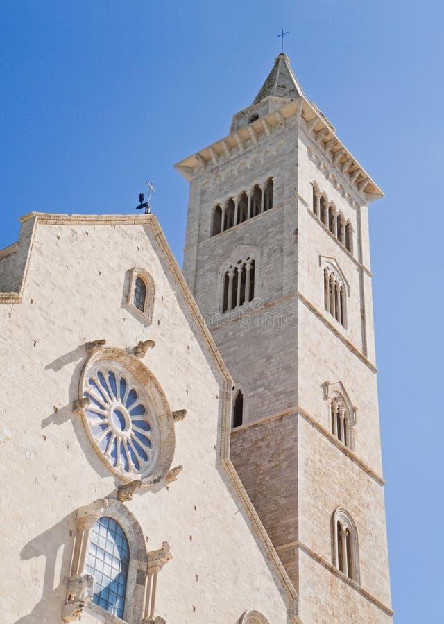 De kathedraal van Trani. Apulia. royalty-vrije stock fotografie