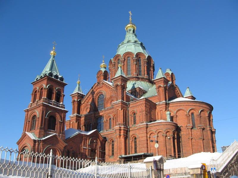 De Kathedraal van Uspensky stock fotografie