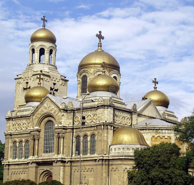 De Kathedraal van Varna stock fotografie