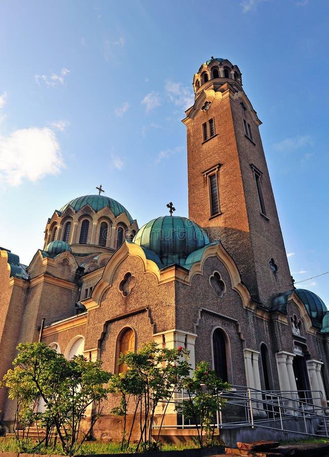 De kathedraal van Velikotarnovo stock afbeeldingen