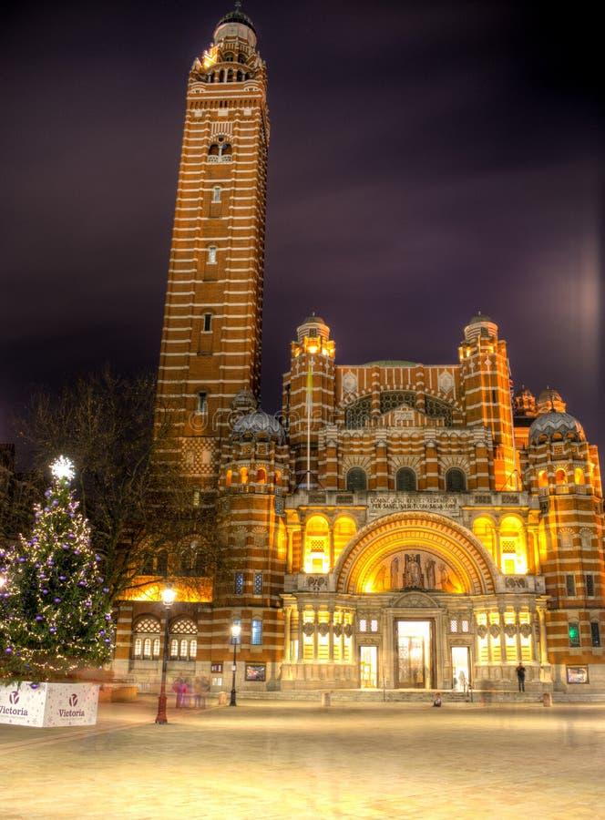 De Kathedraal van Westminster royalty-vrije stock foto