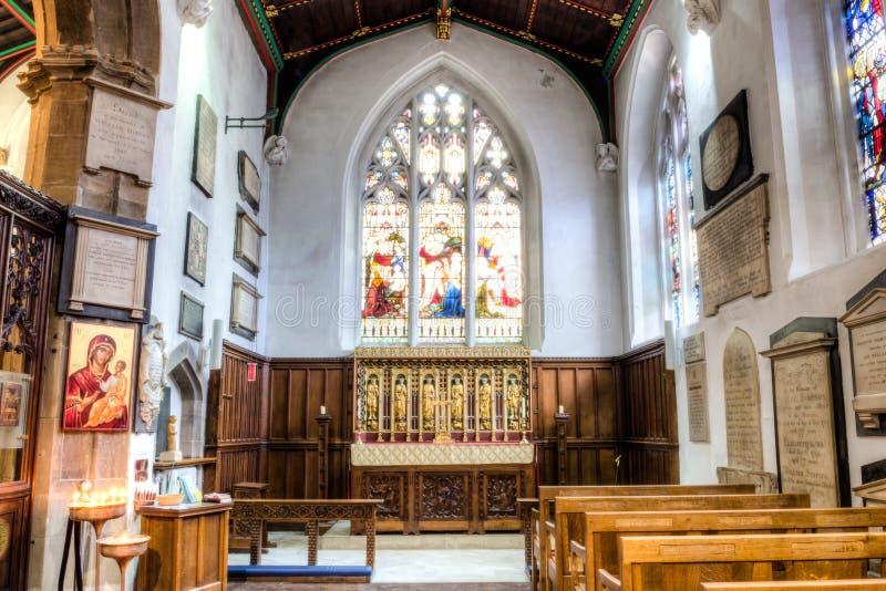 De Kathedraalkapel HDR van Leicester stock foto