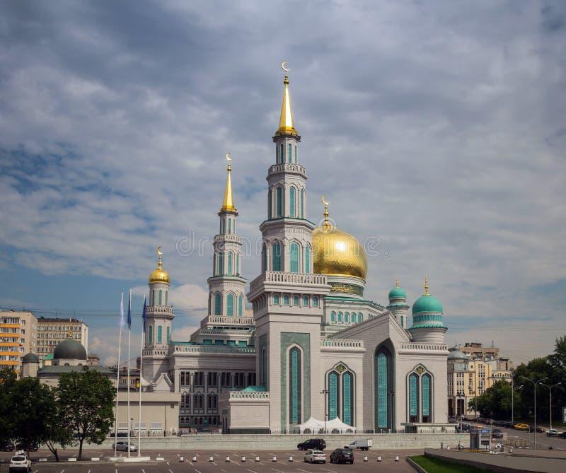 De Kathedraalmoskee van Moskou royalty-vrije stock foto
