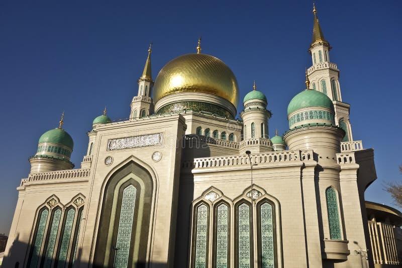 De Kathedraalmoskee van Moskou royalty-vrije stock afbeeldingen