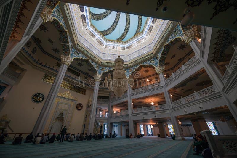 De Kathedraalmoskee van Moskou royalty-vrije stock fotografie