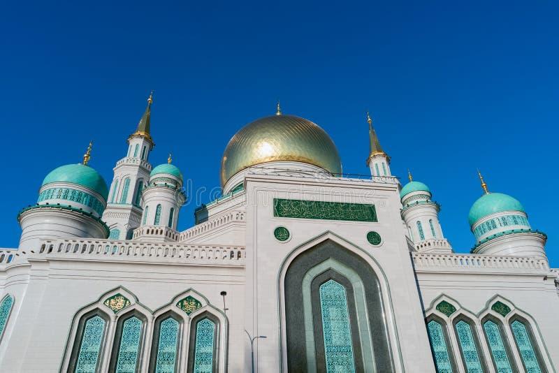 De Kathedraalmoskee van Moskou, Rusland royalty-vrije stock foto's