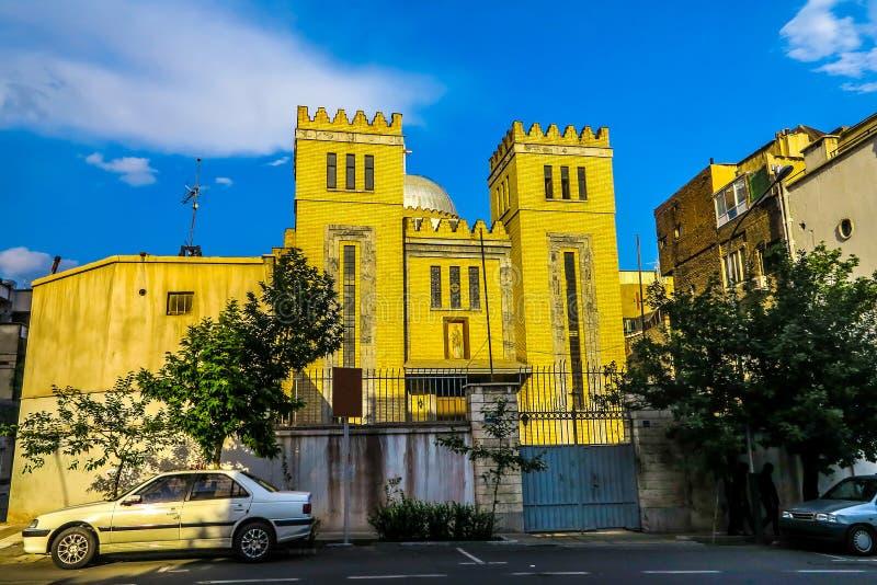 De Katholieke Kerk van Teheran stock foto's