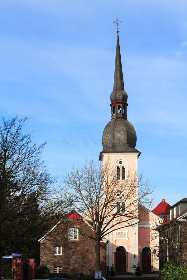De Katholieke parochiekerk van St Peter stock foto's