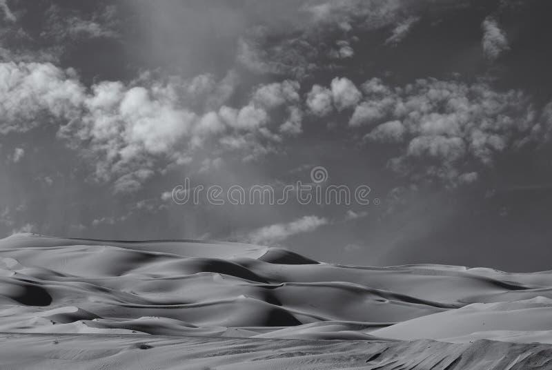 De keizer duinen van het Zand stock afbeeldingen