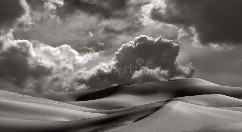 De keizer duinen van het Zand royalty-vrije stock afbeeldingen