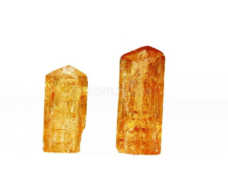 De keizer Kristallen van de Topaas royalty-vrije stock foto's