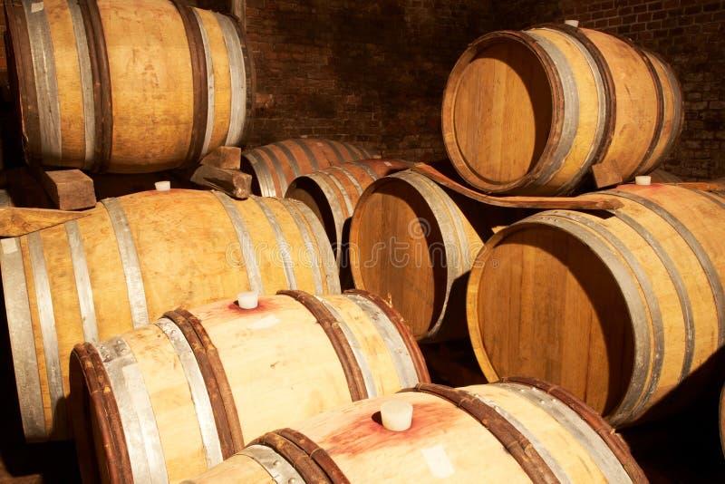 De kelder van Wineyard royalty-vrije stock afbeeldingen
